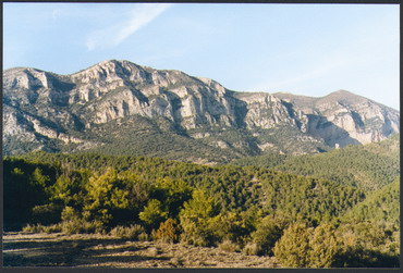 - Fig. 2: Panoramic of mount Aubenç