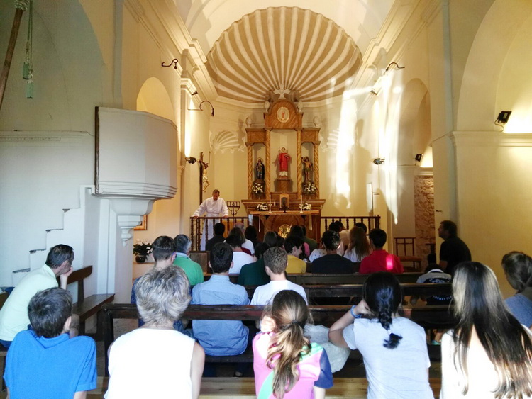- Mass of thanksgiving, the last day, in the church of Pallerols
