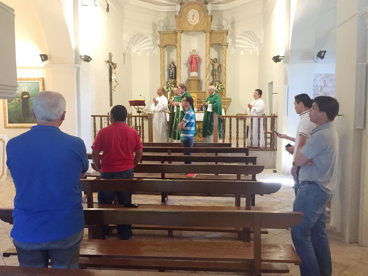 - Celebration of the Mass in Pallerols