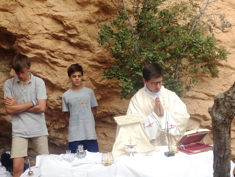 - The Mass at the Ribalera