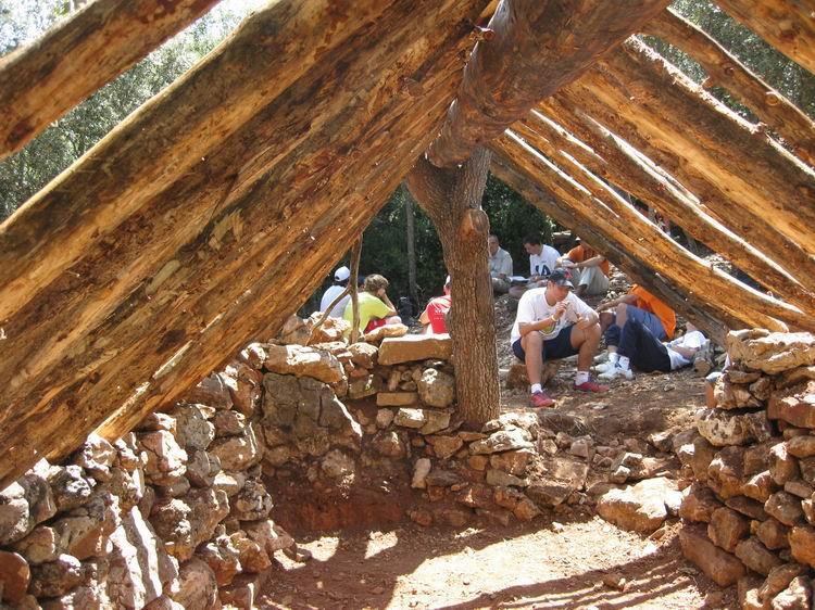 - Reconstruction of Sant Rafel's Cabin